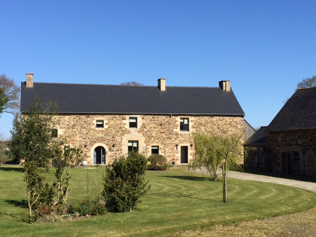 luxury farmhouse brittany - exterior
