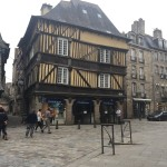 dinan - timber buildings