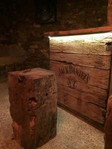 Jack Daniels Bar with feature led strip lighting